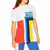 ELLESSE GIOVO SGY05520 Womens T-Shirt Crew Neck Summer Sports Tee Casual Tops