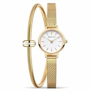 Bering Geschenkset Lovely Armbanduhr und Charm-Armband