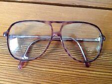 Vintage Hipster Eyeglass Rx Frames Purple Plastic Diplomat-Parker C4 58-16 145