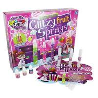 GRAFIX CHILDRENS GLITZY FRUIT SPRAYS MAKE YOUR OWN PERFUME SET SCIENCE LAB TOY