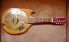 10 string resonator mandolin prototype by NC luthier Steve Wishnevsky