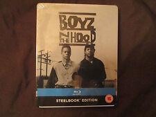 Boyz N The Hood Debossed STEELBOOK (Blu-ray, UK, Zavvi) Boys in the Hood.OOP