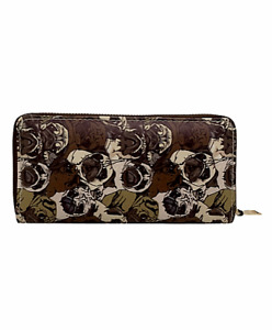Ladies Cute Pug Faces design zipped Purse Wallet compartment Pug Dog lover gift