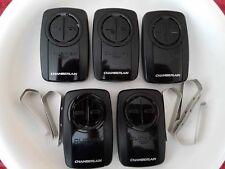 LOT OF 5    Chamberlain KLIK3U-BK2 Clicker Universal Remote Ctrl Clicker BLACK