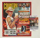 "KENNY CHESNEY Signed Autograph Auto ""Country Weekly"" 9/06 Magazine JSA COA"