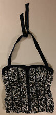 WOMEN'S LARGE, LEOPARD PRINT, HALTER TOP BY CHARLOTTE RUSSE!