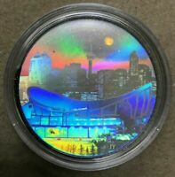 "2006 RCM ""ARCHITECTURAL TREASURES PENGROWTH SADDLEDOME "" $20 FINE SILVER COIN"