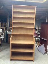Oak Dresser Shelving Kitchen Unit Bookcase Shelves