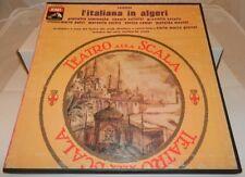 Disco vinile Lp 33 giri L'ITALIANA IN ALGERI Rossini Teatro alla scala - Giulini