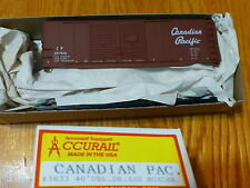 Accurail Ho #3633 Canadian Pacific 40' Dbl Door Aar Boxcar Kit Rd #297516