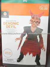 50% OFF! TARGET DEMONIC DEVIL BOY COSTUME SET MEDIUM 6-8 BNWT US$ 30