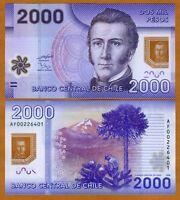 Chile, 2000 (2,000) Pesos, 2009, POLYMER, Pick 162, UNC