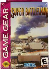 SUPER BATTLETANK jeu video tank char pour console konsole Game Gear SEGA NEUF