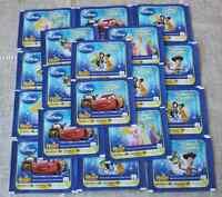 Panini Carrefour Disney Un Monde Magique lot 50 pochettes soit 200 images NEUVES