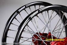 SUZUKI RM 85 (2002-2018) TALON ALUMINIO ACR 48.3cm & 40.6cm ruedas grandes rojo