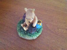 "DISNEY Lenox ""Winnie the Pooh"" Thimble POOH  REACHING INTO  HONEY POT"