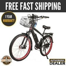 New 2019 X-Treme LAGUNA BEACH CRUISER 48V  Electric Bicycle, OPEN BOX