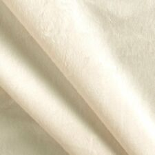 Ivory Solid Minky Plush Soft Smooth/Plain ,Blanket, lining, Fabric By The Yard