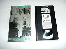Elvis Presley The Great Performances The Man & The Music 1990 VHS Video Tape