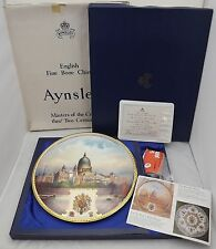 Boxed Aynsley St. Paul's Wall Plaque Royal Wedding Charles & Diana L. Woodhouse