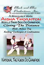 A Workout with Aisha Thornton Closing the Distance Sparring Techniques DVD