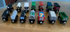 Thomas & Friends Wooden Railway Lot Customized Like Popular Paxton Characters
