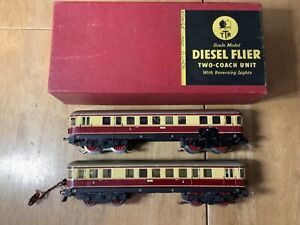 Trix Twin 20/58 3 Rail AC Diesel Flyer 2 Car DMU