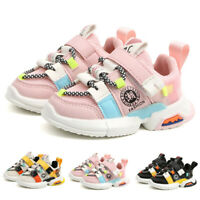 Toddler Infant Kid Baby Girl Boy Soft Sole Mesh Running Sport Shoes Sneakers US