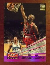 1993-94 Topps Stadium Club Beam Team #4 Michael Jordan Basketball Card - Bulls