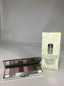 Clinique All About Shadow 8-Pan Palette Wear Everywhere Pinks .41oz/11.7g NIB