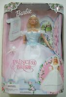 Barbie Doll Princess Bride Chimes Blue Bodice Veil Necklace Wedding 2000 New