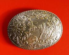 Vintage Western Cowboy Belt Buckle