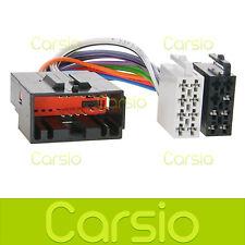 Jaguar X Type ISO Lead Wiring Harness Connector Radio Stereo Adaptor PC2-81-4