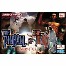 THE PINBALL OF THE DEAD  Gameboy Advance GBA Japan