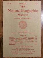 (REPRINT!) National Geographic Magazine October 1896 Vol. VII No.10, California