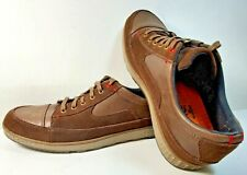 Cushe Mens Sonny Premium Leather Casual Shoe Brown Men's US Size 10 Mellow