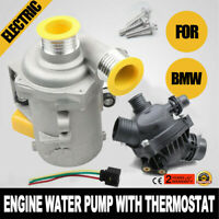 US Electric Water Pump & Thermostat 11517586925 For BMW X3 128i 325i 328i 530i
