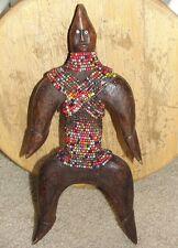 Old African Namji Doll Statue Figure Africa Tribal Namchi Beaded CAMEROON  ART