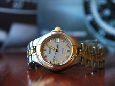 TISSOT T-640 All Titanium Gold-Plated LADY Watch ** VERY RARE **