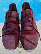 Men's Adidas BY3571 Tubular Shadow Burgandy Shoes - Size 10