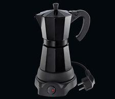 Cilio Espressokocher Classico elektrisch für 6 Tassen schwarz