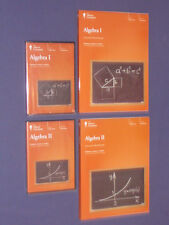 Teaching Co Great Courses  DVDs       ALGEBRA  I  & II   Combo   Brand New