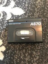 Vintage Gemini AS70 Cassette Player Unique / Tested/Works