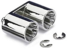 RC Car Muffler Set Twin Top / Tip Exhaust 1:10th Scale Drift Car Accessory JDM