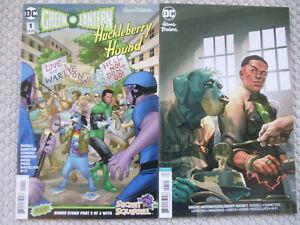 Lot 2 comics Green Lantern/Huckleberry Hound #1 DC both covers Secret Squirrel