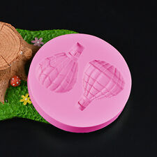3D Silicone Hot Air Balloon Mold Fondant Sugarcraft Cake Decoration Cutter Tool