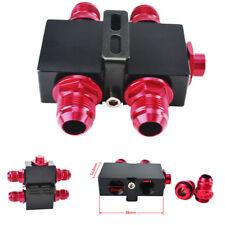 Auto Thermostat Öl Platte AN10 Ölfilter Fitting Adapter CNC Aluminium+Dichtungen
