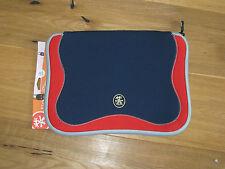 "CRUMPLER  The Gimp 15""  Neopren Notebook und Laptop Tasche blau / rot  NEU"