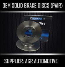 PREMIUM REAR DISCS RS3598 FOR VOLKSWAGEN POLO 1.6 GTI 125 BHP 2000-02