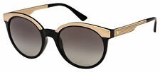 Versace Sunglasses VE 4330 GB1/11 53 Black / Gold | Grey Gradient Lens